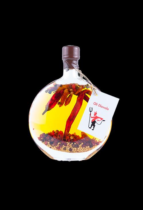 aceite picante diavolo aromatiks modelo flaminnia 100ml