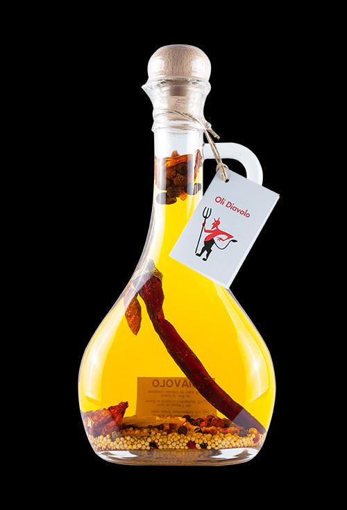 aceite picante diavolo aromatiks modelo julia 250ml