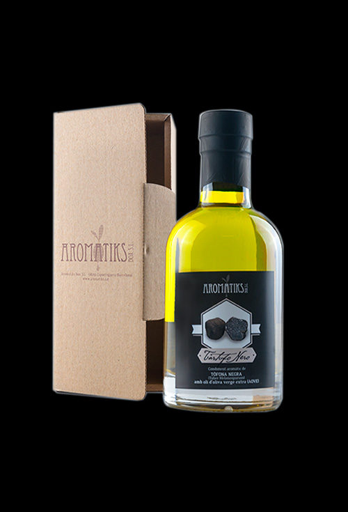 aceite tartufo nero trufa negra aromatiks modelo nocturne 200ml