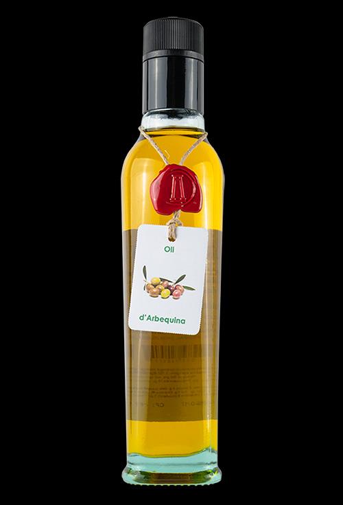 aceite oliva virgen extra arbequina aromatiks modelo fiorentina 250ml