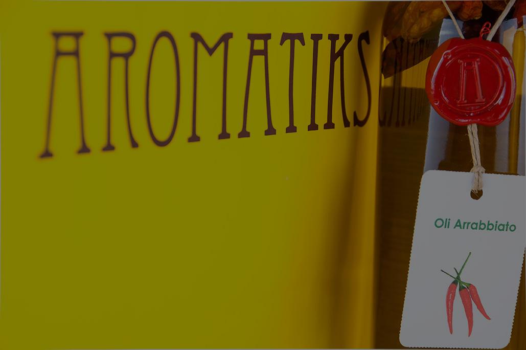 renovacion de la pagina web de aromatiks