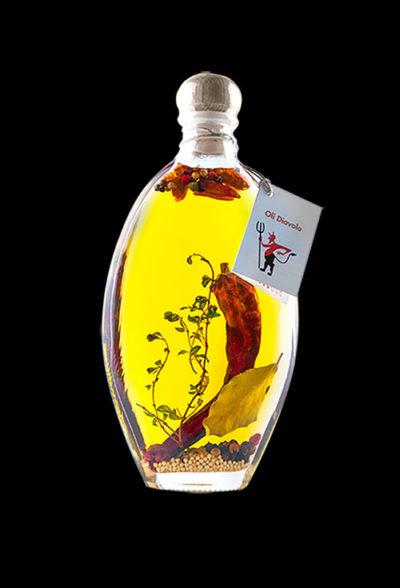 aceite picante diavolo aromatiks modelo tarquinia liscia 200ml